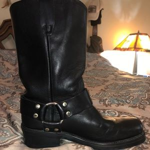 Dingo Molly Leather Harness Riding Boots
